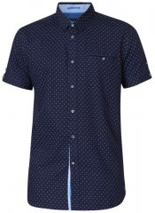 D555 Kurt Printed Short Sleeve Shirt