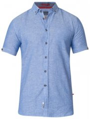 D555 Eric Linen Short Sleeve Shirt