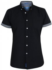 D555 Kevin Oxford Shirt Black