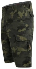 D555 Marty Camo Shorts Green