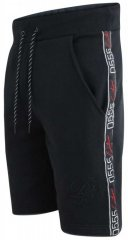 D555 Burlington Couture Jersey Shorts Black