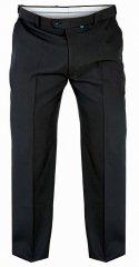 Duke Canary Bedford cord bukser Charcoal i store størrelser