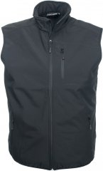 Marc & Mark Softshell-vest Svart