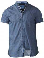 D555 Limburg Short Sleeve Shirt Blue