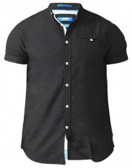D555 Dwight Short Sleeve Shirt Black