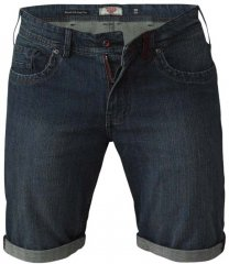 D555 Arix Denim Stretch Shorts