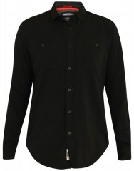 D555 Donnie Long Sleeve Jersey Shirt Black