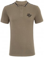 Loyalty & Faith Element Polo Khaki