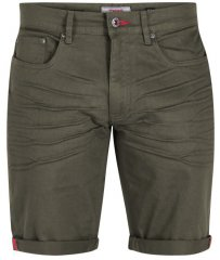 D555 Gilbert Stretch Shorts Khaki