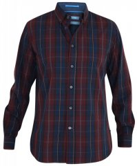 D555 Grady Long Sleeve Check Shirt