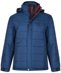 Kam Jeans KV98 Padded Jacket Blue