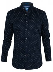 D555 Rashard Long Sleeve Printed Shirt