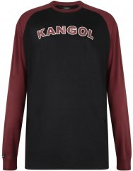 Kangol Rufio Long Sleeve T-shirt Black