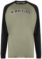 Kangol Rufio Long Sleeve T-shirt Khaki