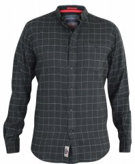 D555 Taylor Long Sleeve Shirt Charcoal
