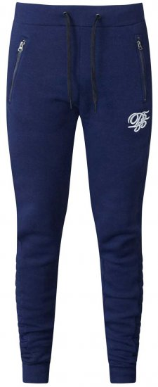 D555 Javier Fashion Sweatpants Navy - Sweatbukser og Sweatshorts - Sweatbukser og Sweatshorts 2XL-8XL