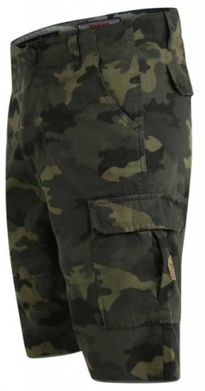 D555 Marty Camo Shorts Green - Shorts - Store shorts - W40-W60