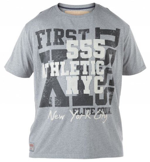 D555 NYC Athletic T-shirt - T-skjorter - Store T-skjorter - 2XL-8XL
