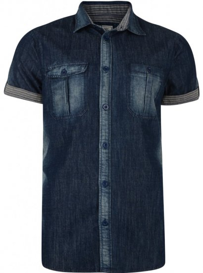 Kam Jeans Heath Denim Shirt - Skjorter - Store skjorter - 2XL-8XL