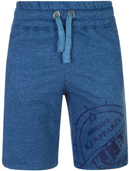 Kam Jeans 302 Fashion Sweat Shorts Blue - Sweatbukser og Sweatshorts - Sweatbukser og Sweatshorts 2XL-8XL