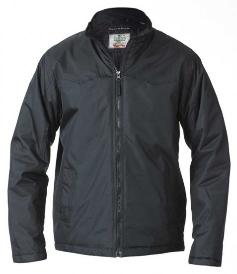 D555 Rayford Light Padded Jacket Black - Jakker & Regntøy - Store jakker - 2XL-8XL