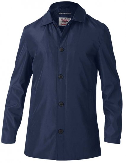 D555 Hampton Raincoat Navy - Jakker - Store jakker - 2XL-8XL