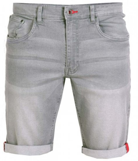 D555 Griffin Denim Shorts Grey - Shorts - Store shorts - W40-W60