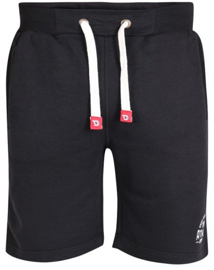 D555 Harvey Fleece Shorts Black - Sweatbukser og Sweatshorts - Sweatbukser og Sweatshorts 2XL-8XL