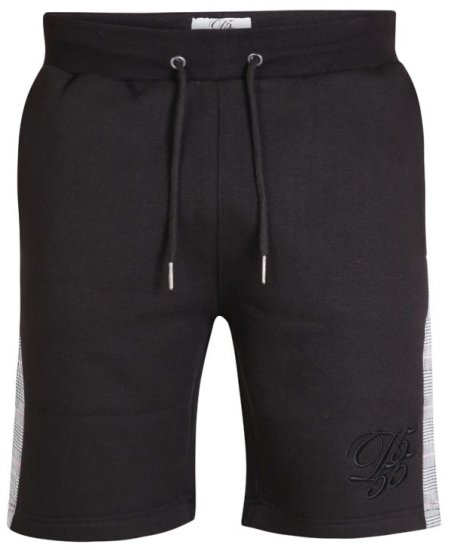 D555 Hayes Sweat-shorts Black - Sweatbukser og Sweatshorts - Sweatbukser og Sweatshorts 2XL-8XL