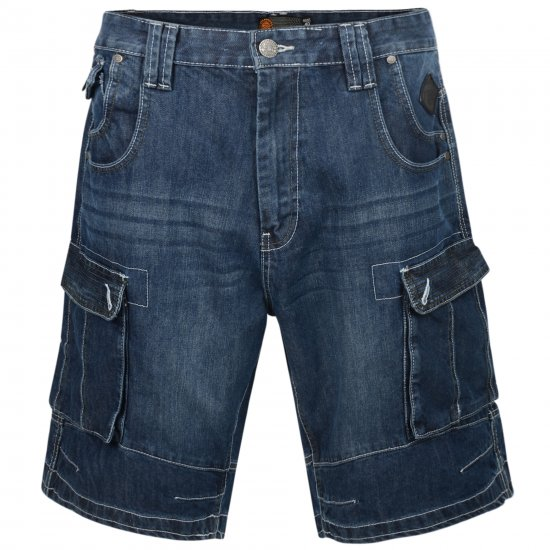 Kam Jeans Francis Dark Used - Shorts - Store shorts - W40-W60