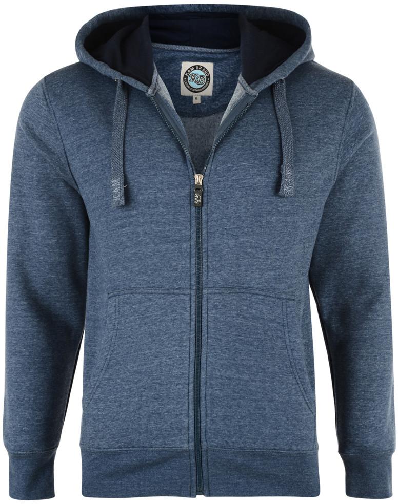 e81cc475 Kam Jeans Hettegenser Denim Blue - Gensere og Hettegensere - Store  hettegensere - 2XL-8XL