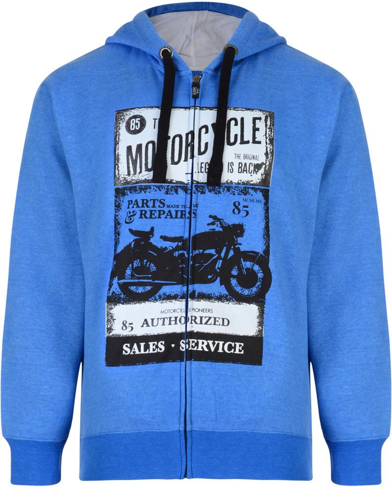 98b83069 Kam Jeans 790 Motorcycle Hoodie - Gensere og Hettegensere - Store  hettegensere - 2XL-8XL