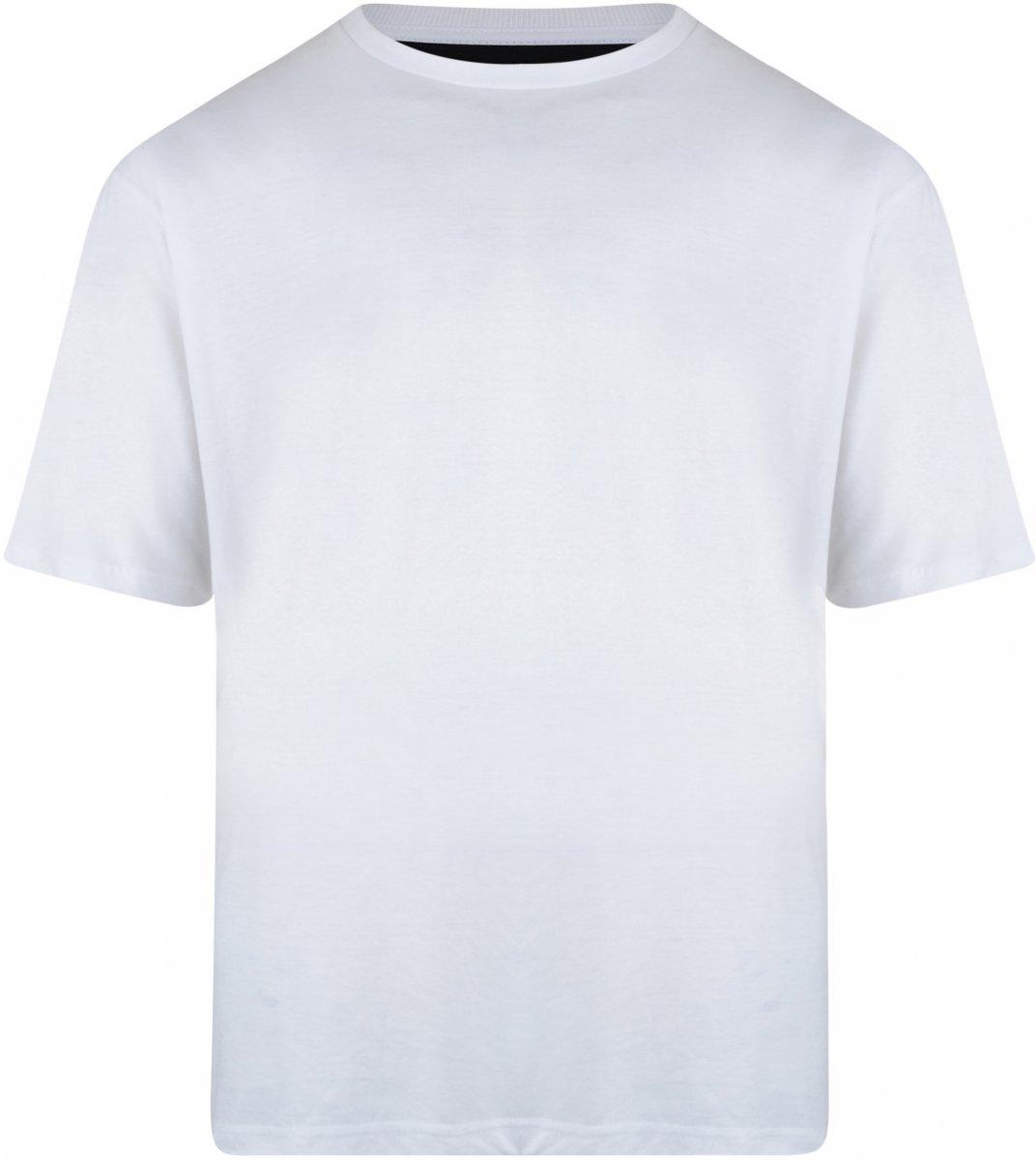 c911169d Motley Denim T-skjorte Hvit i store størrelser - MotleyDenim.no