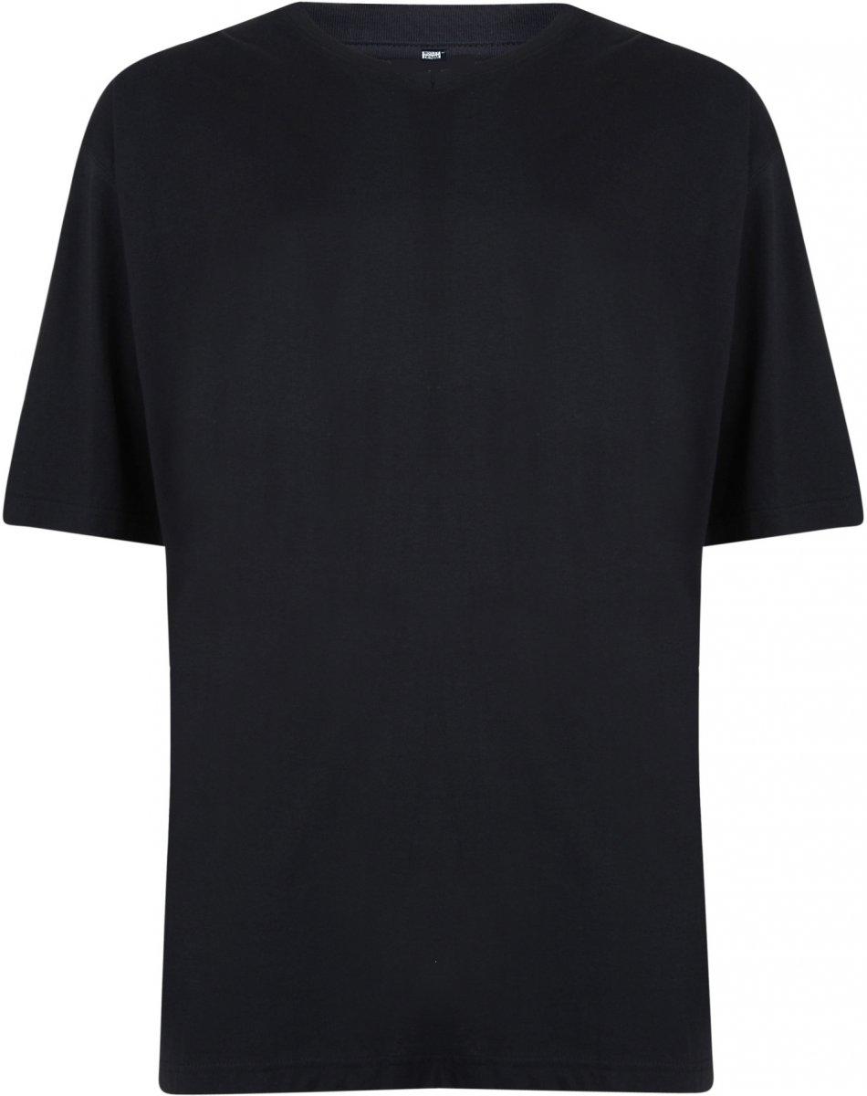 43e14bb7 Motley Denim V-hals T-skjorte Svart i store størrelser - MotleyDenim.no
