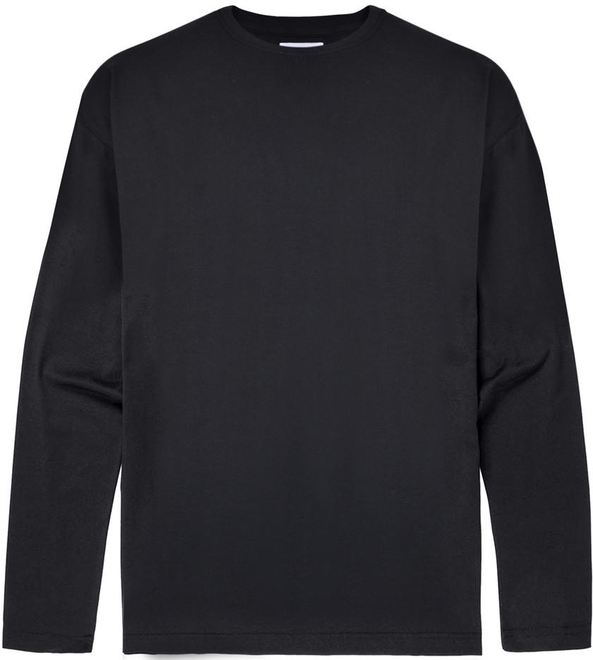 33008c9b Motley Denim Langermet T-skjorte Svart - T-skjorter - Store T-skjorter