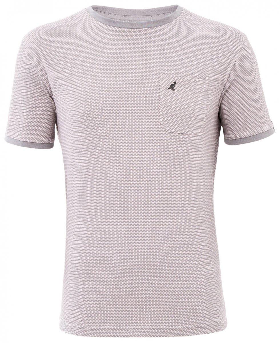 Kangol Cosmo T shirt Grey i store størrelser MotleyDenim.no