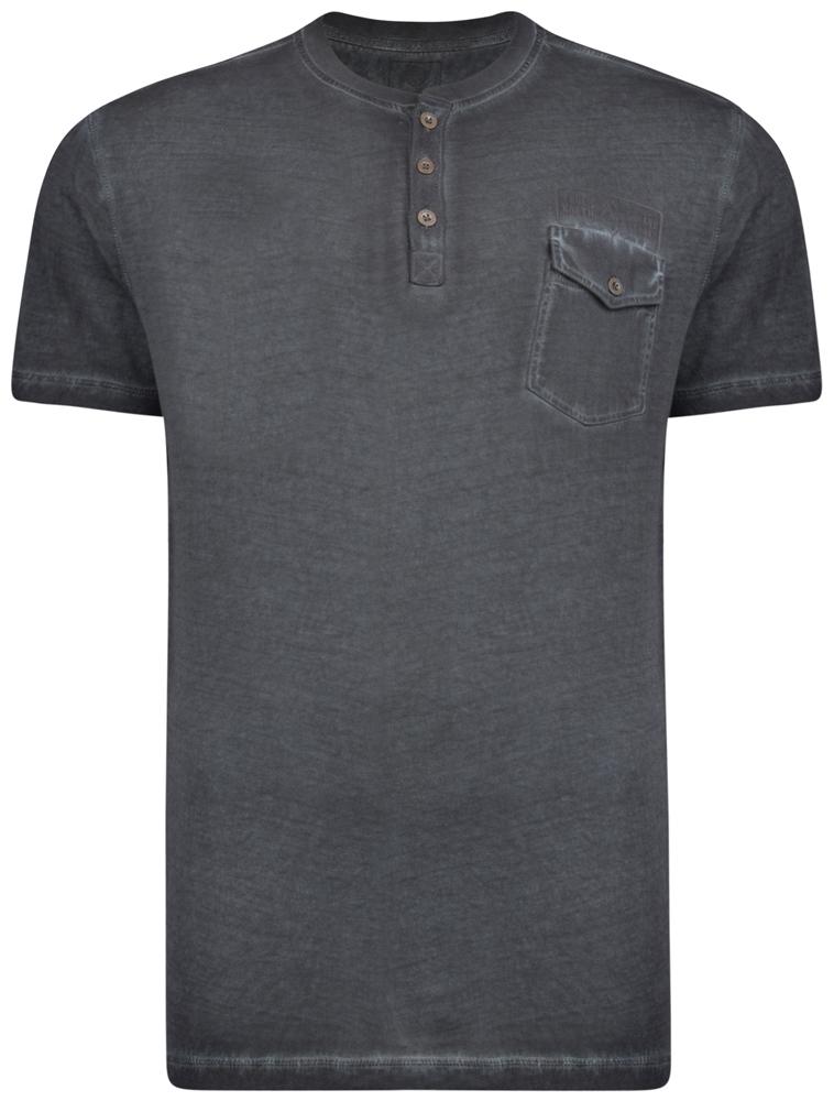 cbce5038 Kam Jeans 5262 T-shirt Black i store størrelser - MotleyDenim.no