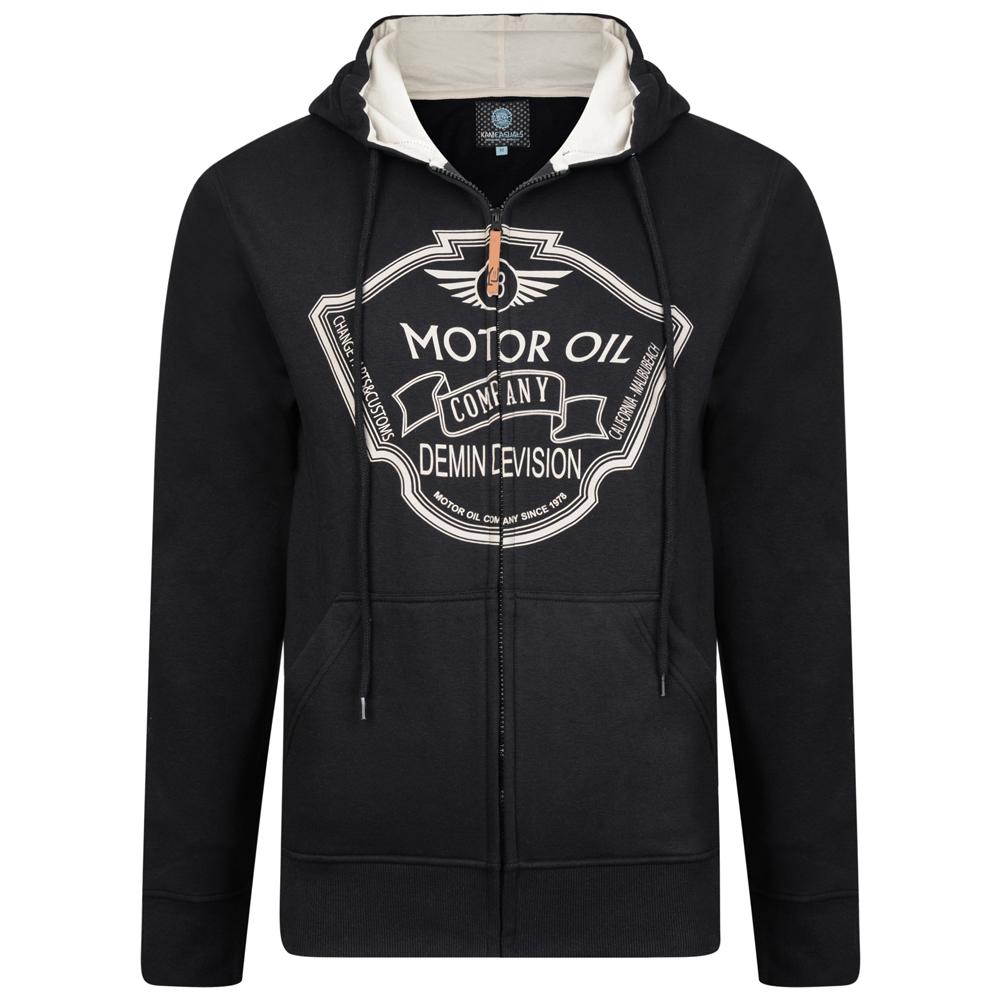 7aef79d0 ... Kam Jeans 705 Motor Oil Hoodie Black - Gensere og Hettegensere - Store  hettegensere - 2XL